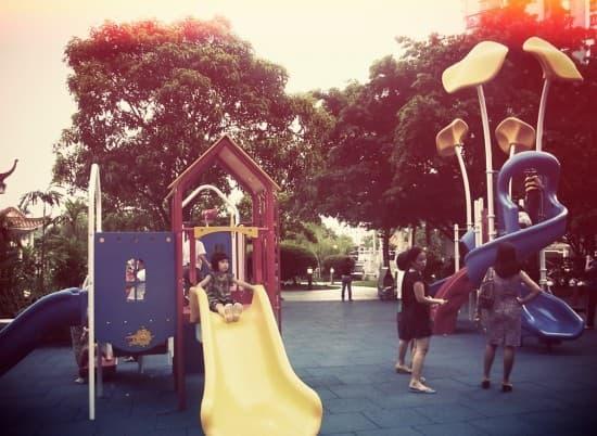 公園是小朋友天地