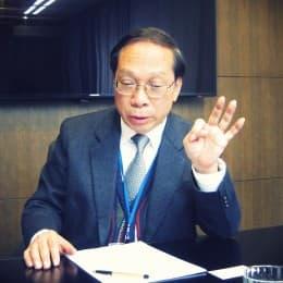澳廣視行政總裁梁金泉