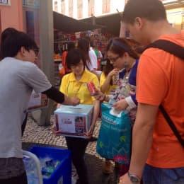 街頭募捐活動