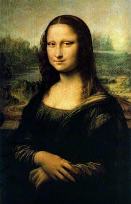 Mona Lisa 蒙娜麗莎 - 達芬奇