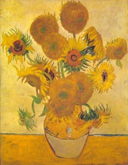 Sunflowers 花瓶向日葵 - 梵谷