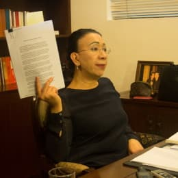 歐寶蓮重申,跟某高官「無仇無怨」,跟進案件的原因只為「對得住自己讀過的法律」