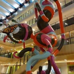 國外走進兒童醫院的藝術