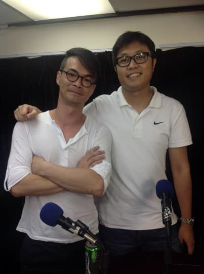 《熱血劇場》監制JOEY(左)及導演ZERO(右)