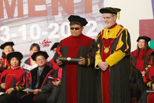 嘉俊的大學畢業禮