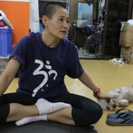 蔡詠子期望義工真正幫忙清潔多於來跟貓狗玩耍
