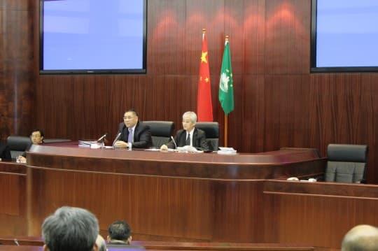 行政長官崔世安最後一次出席今屆立法會答問會