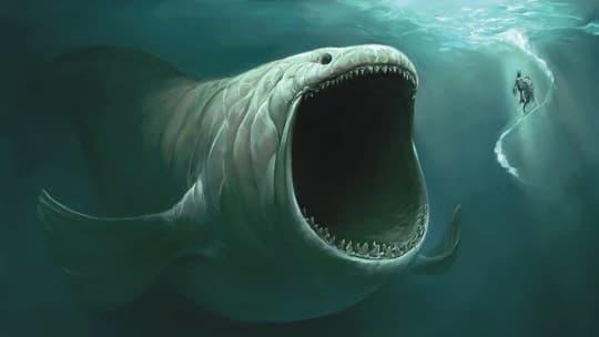 聖經中的魚怪利維坦