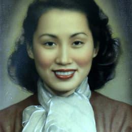老闆收拾雜物時發現的「仙姐」(白雪仙)畫像
