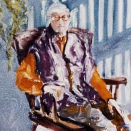 Avó do artista - detalhe(照片來源:wikimedia commons)