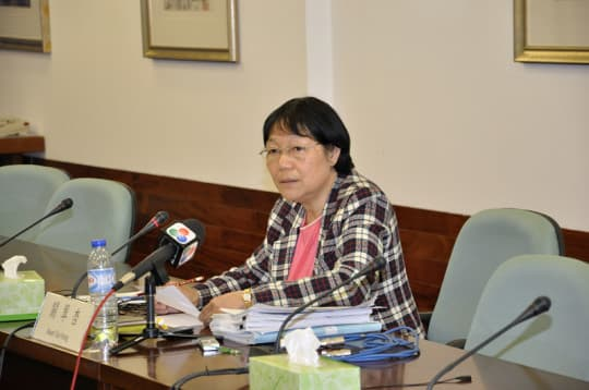 立法會第一常設委員會主席關翠杏