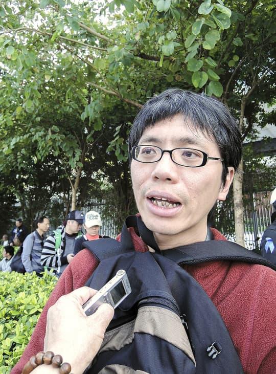 香港嶺南大學文化研究系高級講師葉蔭聰