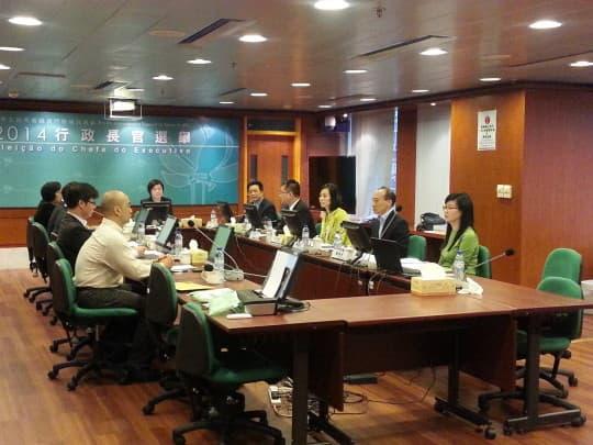 行政長官選管會週二舉行第三次工作會議