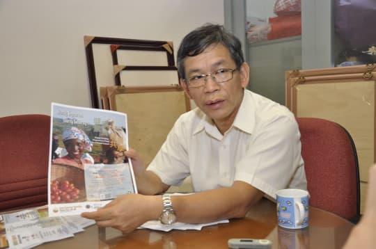 潘志明表示︰「我好希望今次活動可以持續,可以一年一度,推動素食運動、保環以及幫助有需要的人。」