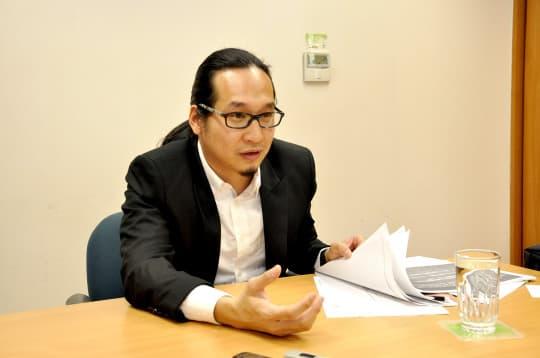 文化局文化創意產業促進廳廳長陳炳輝