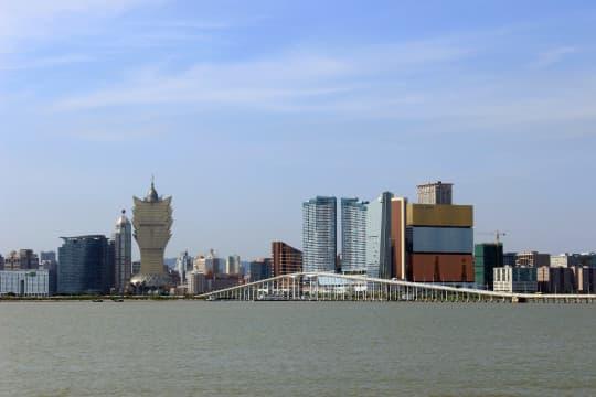 Macau skyline(照片來源:維基百科)