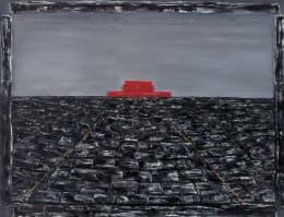 政治與藝術密不可分——即使張曉剛言明天安門系列畫作跟六四無關,對觀者來說還是有充滿著隱喻。