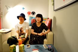Mush.Room的Sony(右)和Faye。