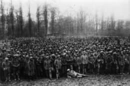 利斯戰役中被德軍俘虜的葡國士兵,人數約在6,500人。(圖片來源:維基百科)