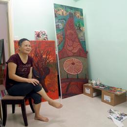 牛房倉庫駐場藝術家蕭薇
