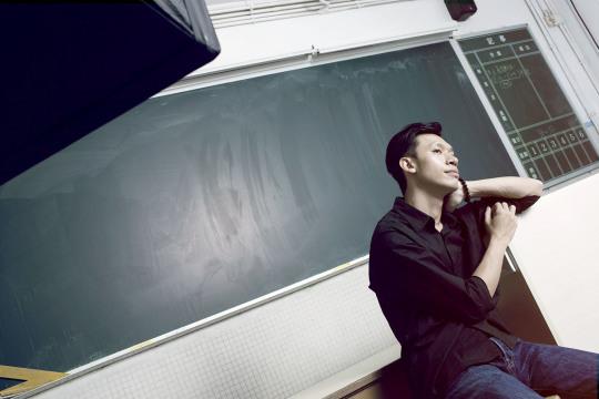 澳門80後劇場人陳飛歷(圖片:澳門文化中心)