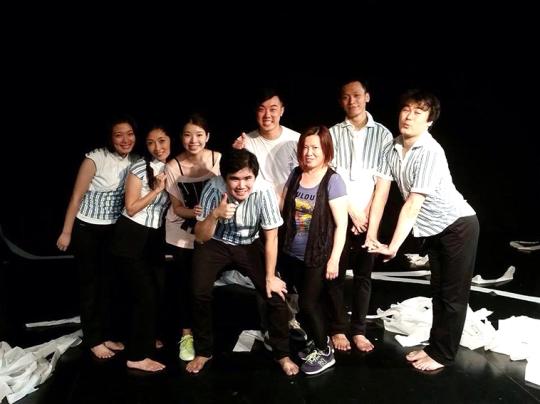 與日本團隊合作的《恐懼》是陳飛歷今年在澳門最後一個演出。