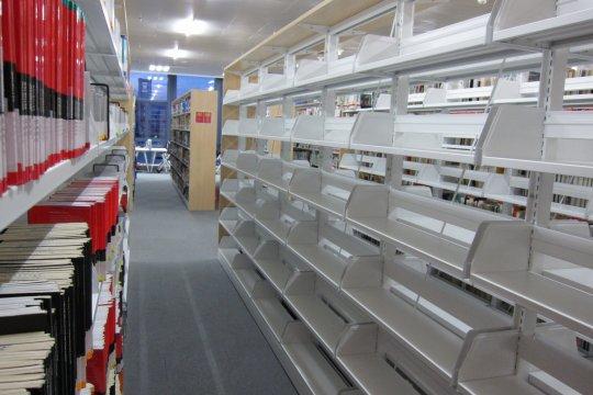 不少澳大學生都反映新校區有很多設備都未完善,例如偌大的圖書館裡,有很多書架都是空的。