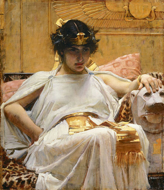 01 Cleopatra (1888) by John William Waterhouse