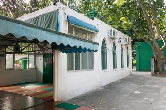 澳門唯一一座清真寺,面積不大,僅能容納數十人進行禮拜。