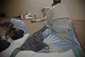 齋戒月期間,Manson與穆斯林一起生活。(圖片來源:MansonPhotos)
