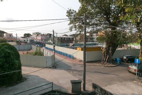 業權人申請規劃條件圖,打算發展船舖街兩幅土地。