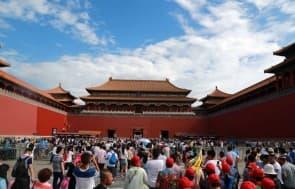 故宮今年七月開始每天最多只接待8萬名遊客。