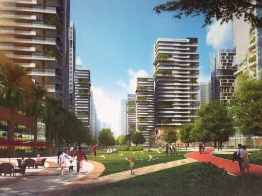 新城規劃變成樓盤廣告?