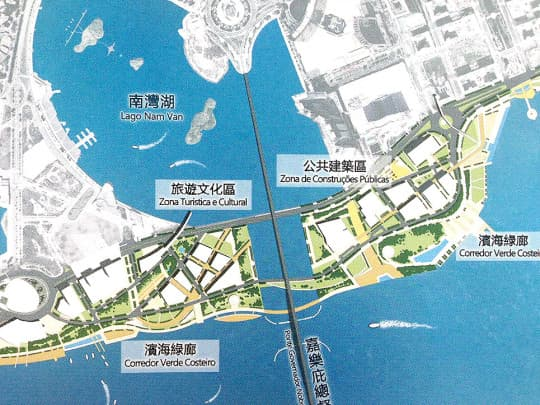 (圖七) 2011年新城B區原規劃方案 (p.40)