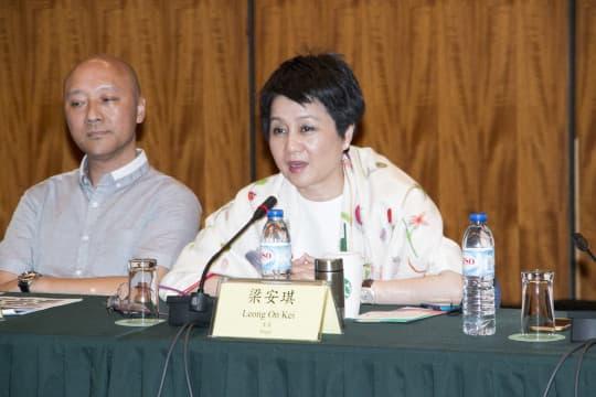 文化產業委員會委員梁安琪