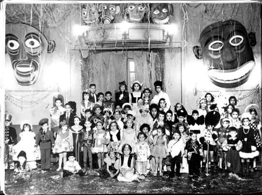 1940年崗頂俱樂部狂歡節(Credit by 網路圖片)