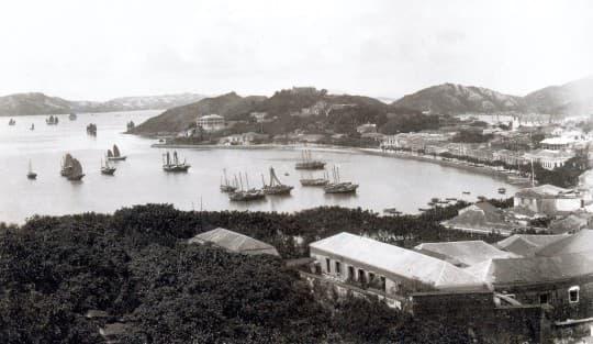 1900年澳門景色(Credit by 網路圖片)