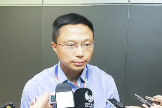 交通事務局局長林衍新