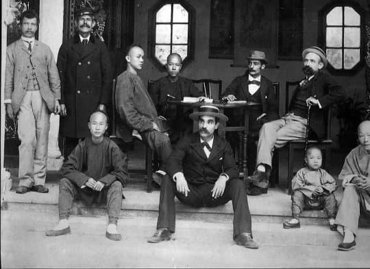 過去數百年,澳門的洋人與華人一同生活(©歷史檔案館)