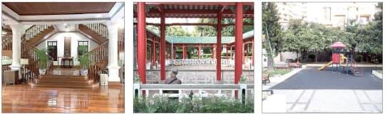 茶文化館、盧廉若公園、得勝花園