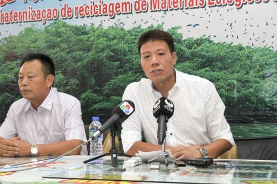 環保物料回收商會副會長黃榮枝