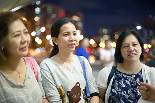 Macau skill group由幾位好竹學的菲傭組成。