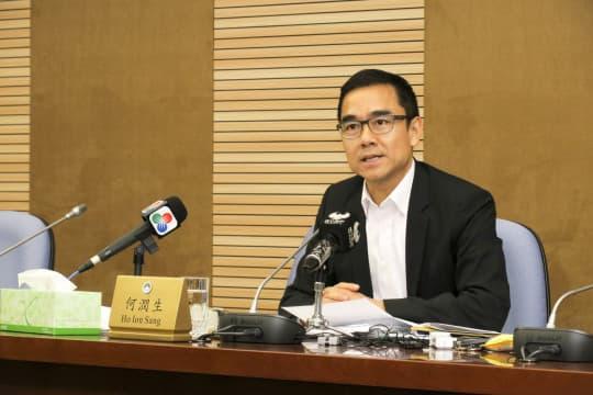 公共批給事務跟進委員會主席何潤生