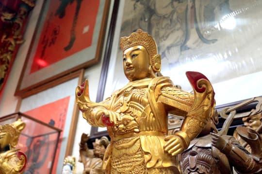 神像雕刻於2008年6月列入「國家級非物質文化遺產」。