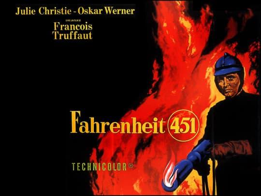 ( fahrenheit 451 poster )