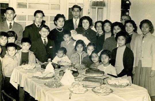 舊時家族成員受洗後舉行的「肥茶」聚會。