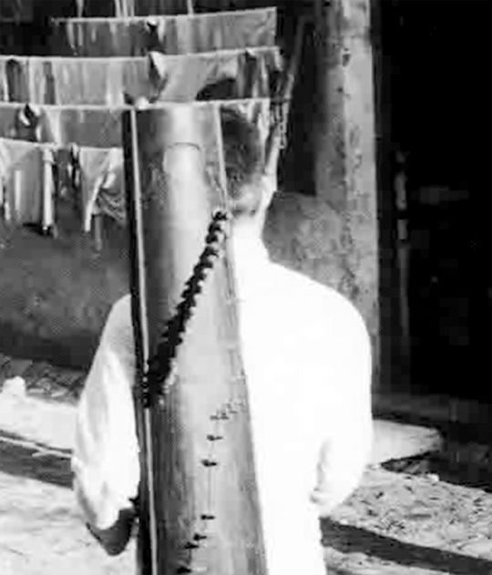民間街頭賣唱的藝人。(網上圖片)