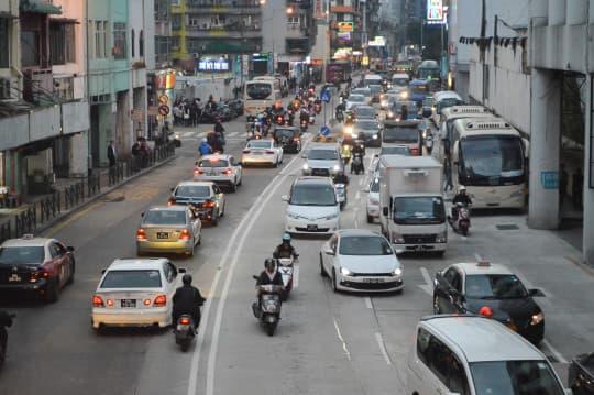 媽閣至林茂塘公交專道將於5月試行(資料圖片)