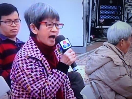 陳鳳(澳廣視電視畫面)