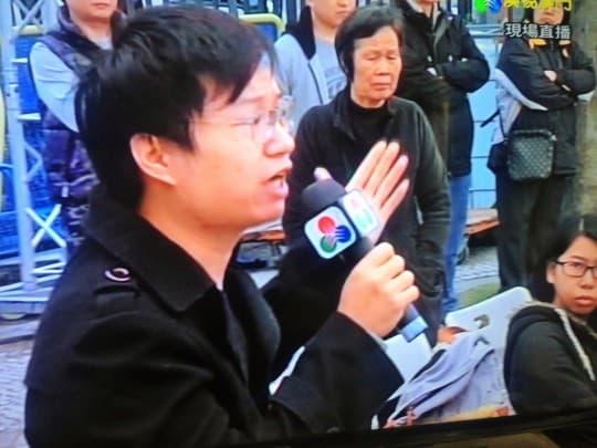 李國強(澳廣視電視畫面)